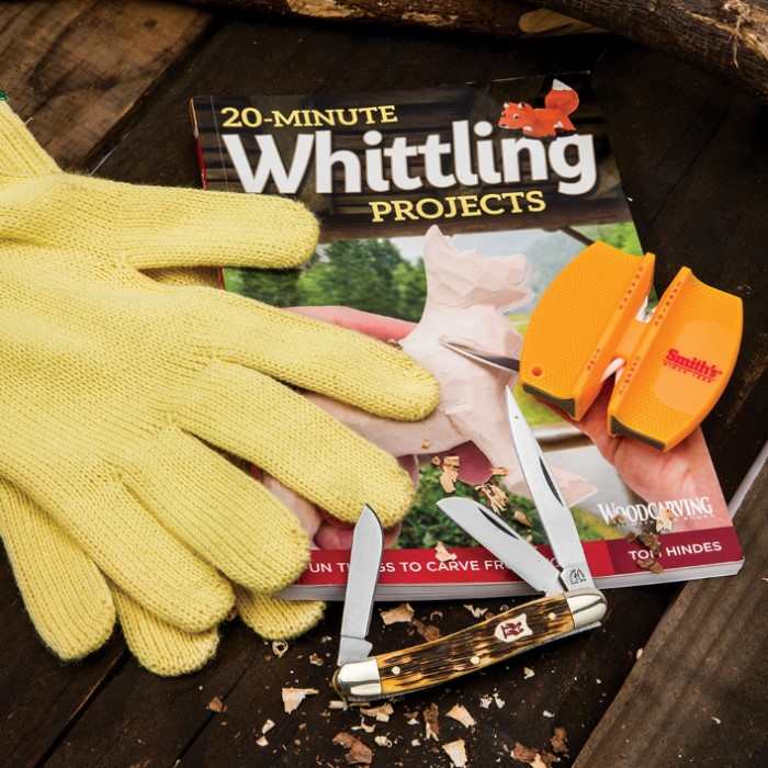 20-MINUTE WHITTLING PROJECTS - HINDES, TOM - NEW PAPERBACK BOOK