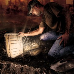 Doomsday Mystery Crate - Rugged Ammo Crate Packed with Assortment of Survival, Emergency, Outdoors, Bug-Out and Other Gear