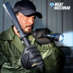 Night Watchman Security Essentials Kit - Includes Stun Gun Flashlight And Night Stick, High-Quality Materials, Exceptional Performance