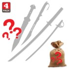 Swords Scratch & Dent Sale Mystery Bag Four Pieces