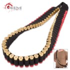 Black Shotgun Shell Bandolier