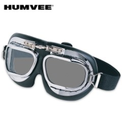 HUMVEE Military Tactical Goggles Clear Lens
