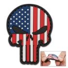 Morale Patriotic Punisher Patch