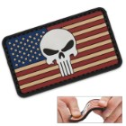 Morale Patch Vintage Flag – Punisher