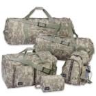 Digital Camo 5-Piece Luggage Set