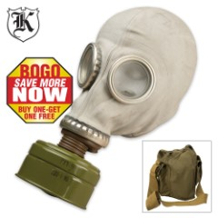 Russian Military Surplus Gas Mask SCHM-41M 2 for 1
