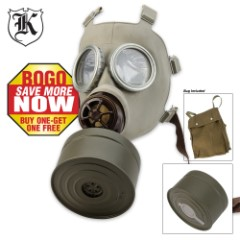 Military Surplus Czech Gas Mask CM3 2 for 1