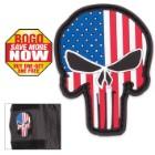 Morale Patriotic Punisher Patch BOGO