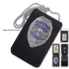 Universal Leather Badge And ID Holder