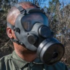 Polish Gas Mask MP5 With Filter And Transport Bag – Like New, Protective Eye Lens, Authentic Military Surplus