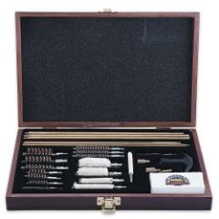 Gunmaster 35-Piece Gun Cleaning Kit in Wooden Presentation Case
