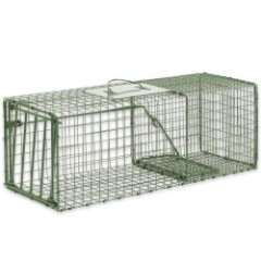 Duke Heavy Duty Medium Animal Non-Lethal Cage Trap - Rabbits, Large Squirrels, Skunks and More