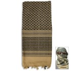 Desert Tan Tactical Shemagh Head Wrap Mask Airsoft