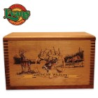 Wooden Accessory Box – Deer