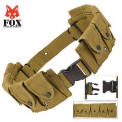 Ten-Pocket Cartridge Belt