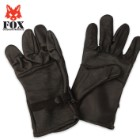 Fox D3A Leather Glove Shell Gen. II Black