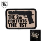 Second Amendment 2 Protects 1st Velcro Patch