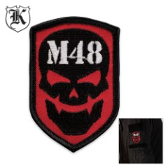 M48 Skull Patch Moral Patch