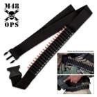 M48 Ops Rifle Cartridge Belt - Black