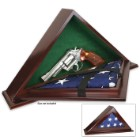 Classic Patriot Flag Case With Concealment Compartment