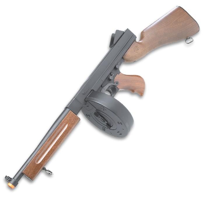 Thompson Machine Gun M1A1 Airsoft Replica   True Swords