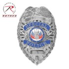 Rothco Deluxe Special Police Badge Silver