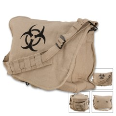 Biohazard Zombie Shoulder Messenger Bag