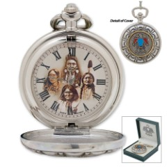 Native American Pocket Watch