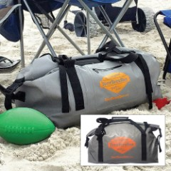 Grey Duffle Tuff Tote Dry Bag – 60L
