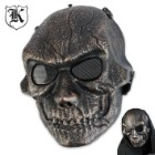 ABS Bronze Goblin Skeletal Facemask Cinnamon Bronze