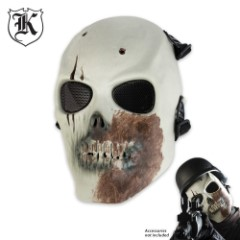 ABS Skeletal Zombie Facemask