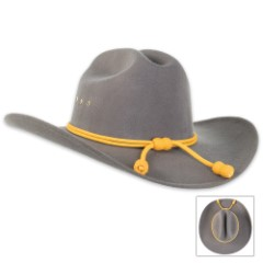 Confederate Officer Dress Hat With Gold Tassels