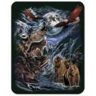 Seven Hidden Wolves Heavyweight Blanket