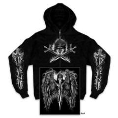 Reaper Wings Zipper Hoodie