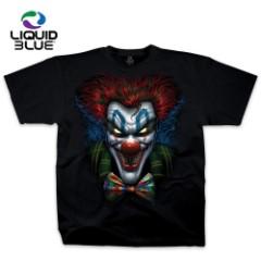 Evil Bow Tie Clown Black T-Shirt