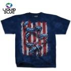 American Serpent Blue Tie-Dye T-Shirt