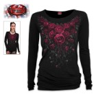 Women's Blood Rose Long Sleeve Shirt
