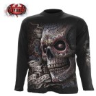El Muerto Black Long-Sleeve T-Shirt