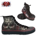 Death Bones Men's High-Top Sneakers
