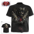 Steam Punk Bandit Black T-Shirt – Top Quality 100 Percent Cotton, Original Artwork, Azo-Free Reactive Dyes