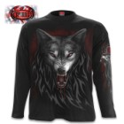 Legend Of The Wolves Black Long-Sleeve T-Shirt – Top Quality 100 Percent Cotton, Original Artwork, Azo-Free Reactive Dyes