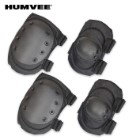 Humvee Knee & Elbow Pad Set Black