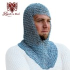 18 Gauge Chain Mail Hood Renaissance Fair Costume