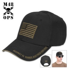 American Flag Tactical Cap