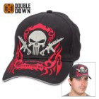 Double Down Armed Punisher Prepare for War Cap - Black Light Twill