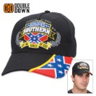 Double Down Bonafied Southern by Grace of God Cap - Black Light Cotton Twill