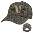 American Flag Vietnam Tiger Stripe Camo Cap – Hat