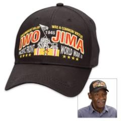 Double Down Black Iwo Jima Cap – Hat