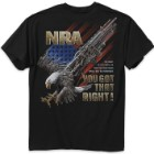 Buckwear NRA You Got That Right Black T-Shirt