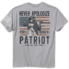 Never Apologize Silver Range T-Shirt